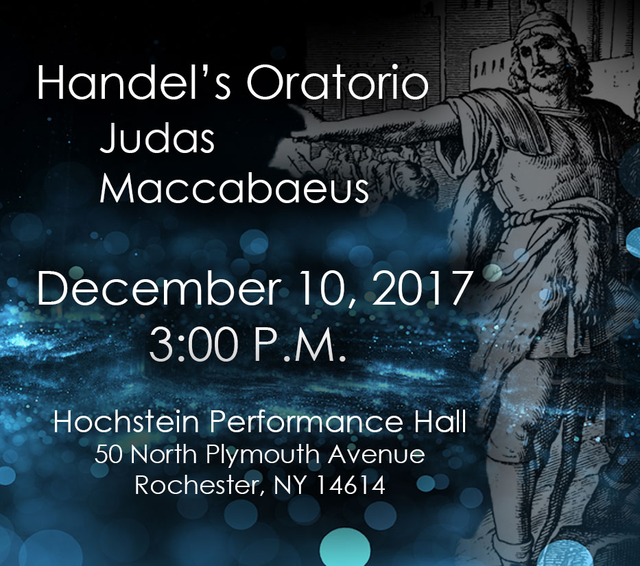Handel's Oratorio 'Judas Maccabaeus'