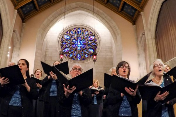 ROS performs Gjeilo at Asbury First United Methodist Church